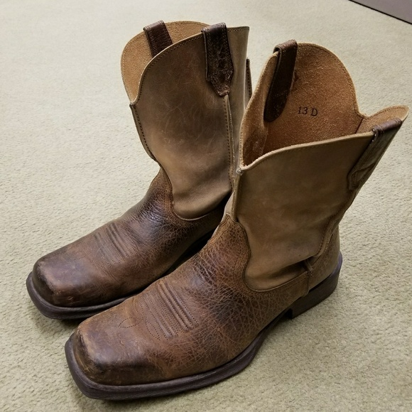 fashion best wholesaler new appearance Ariat mens boots size 13 D